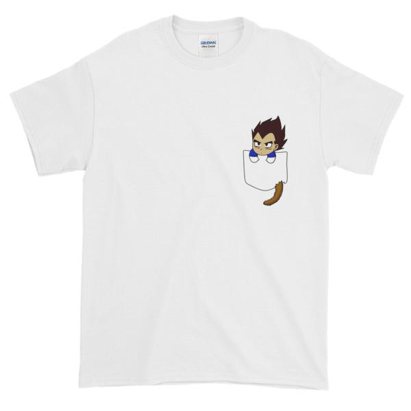 Chibi Vegeta Graphic Tees Shirt CPD 002
