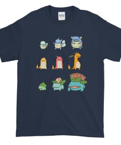 Character Evolution Poke Graphic Tees Shirt CPD 001