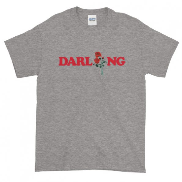 Darling Rose Graphic Tees Shirt