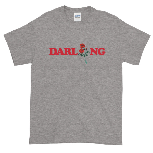 Darling Rose Graphic Tees Shirt
