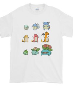 mockup b72c6fdd 247x296 - Character Evolution Poke Graphic Tees Shirt CPD 001