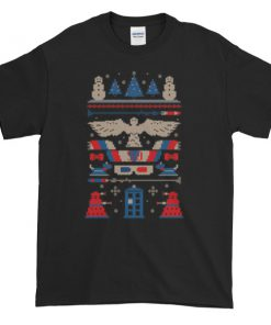 mockup cde981cb 247x296 - DOCTOR WHO Tardis Ugly Christmas Graphic Tees Shirt