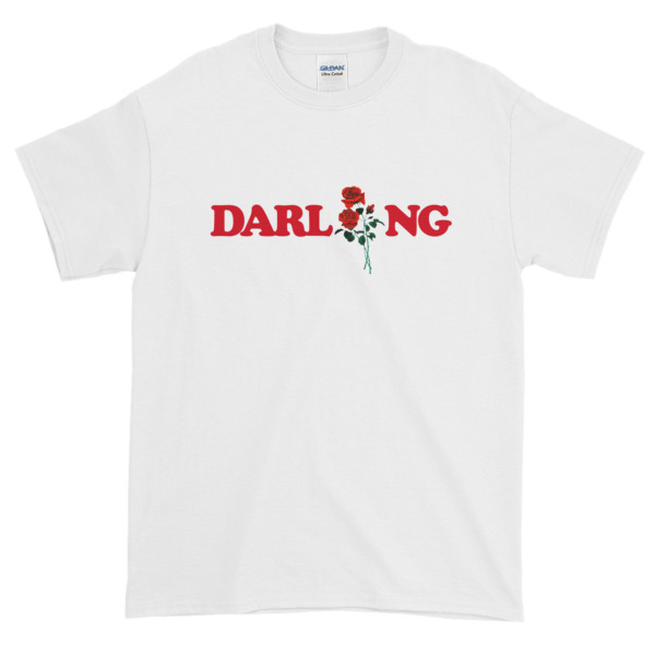 Darling Rose Graphic Tees Shirt. Cheap Graphic Tees Mens.