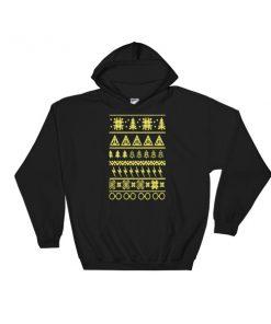 Harry Potter Ugly Christmas Hooded Sweatshirt