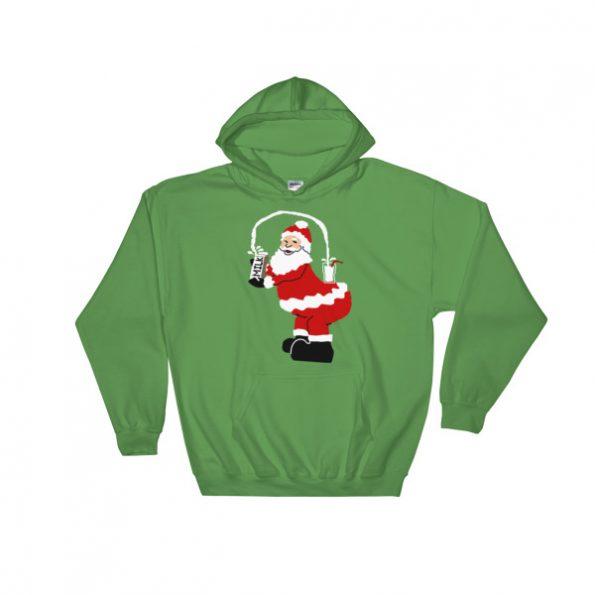 Kim Kardarshian Joke funny Christmas Hooded Sweatshirt