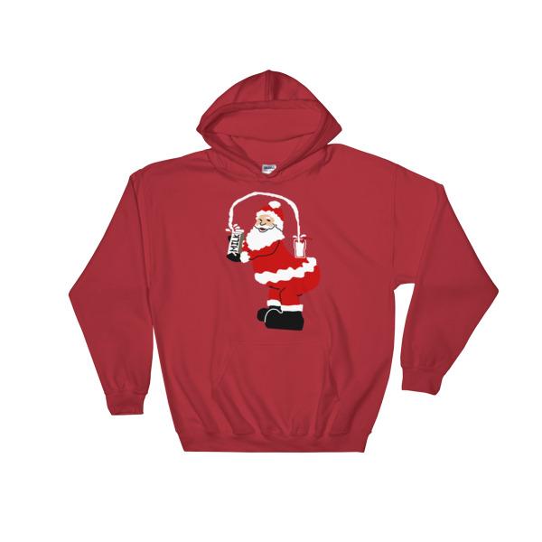 mockup 69620fd0 - Kim Kardarshian Joke funny Christmas Hooded Sweatshirt