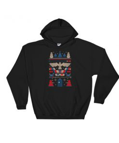 mockup 7a8402dd 247x296 - Doctor Who Tardis Police Box Pattern Ugly Christmas Hooded Sweatshirt