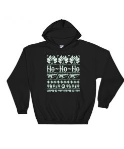 mockup bf1d786d 247x296 - Die Hard - Ho Ho Ho Hooded Sweatshirt