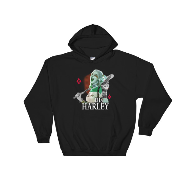 His Harley Quinn Hooded Sweatshirt