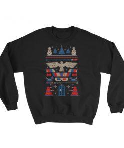 mockup 0f3e4e83 247x296 - Doctor Who Tardis Police Box Pattern Ugly Christmas Sweatshirt