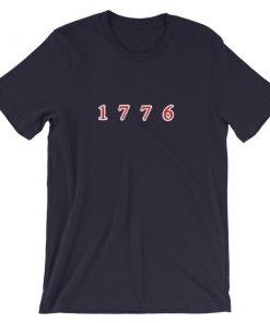 1776 Short Sleeve Unisex T Shirt