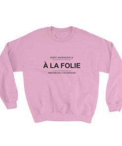 mockup 1b11845a 247x296 - a la folie Sweatshirt