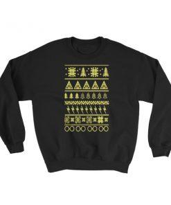 mockup 5ae1719d 247x296 - Harry Potter Ugly Christmas Sweatshirt