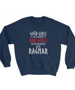 mockup 6e2a012a 247x296 - Good girls go to heaven bad girls go to Valhalla with Ragnar Sweatshirt