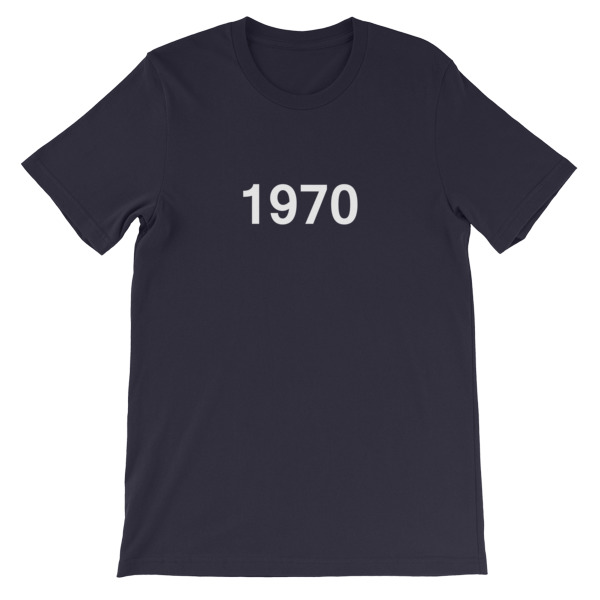 mockup 6f4202b8 - 1970 Short-Sleeve Unisex T-Shirt