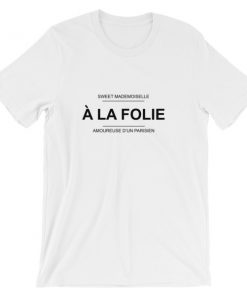 mockup 7a3111d7 247x296 - a la folie Short-Sleeve Unisex T-Shirt