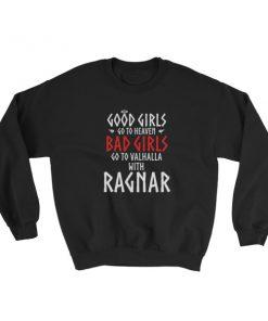 mockup 7db7b603 247x296 - Good girls go to heaven bad girls go to Valhalla with Ragnar Sweatshirt