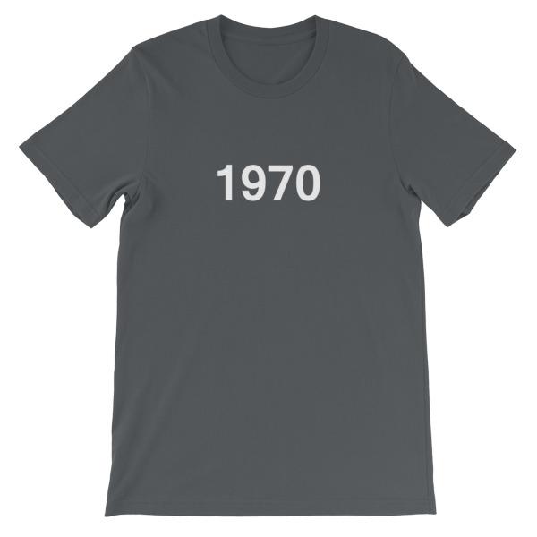 mockup 87dfb9c2 - 1970 Short-Sleeve Unisex T-Shirt