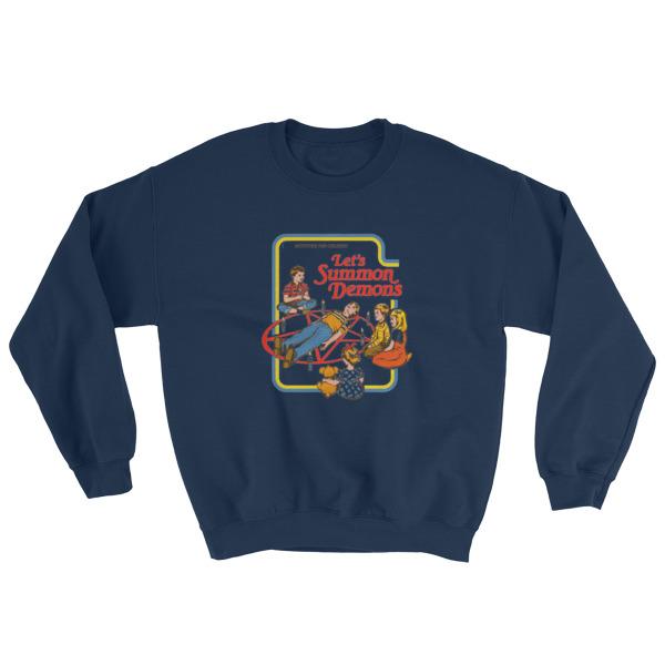 Activities For Children Let S Summon Demons Sweatshirt Cheap