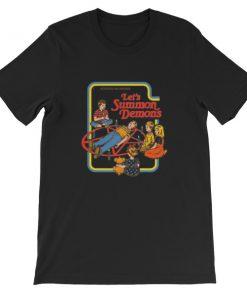 mockup 8c8f8e6e 247x296 - Activities for children let's summon demons Short-Sleeve Unisex T-Shirt