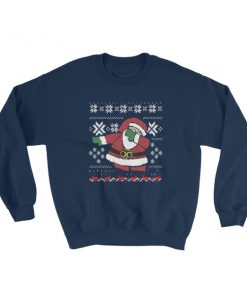 mockup 8e7d9075 247x296 - Dubbing Santa Funny Ugly Christmas Sweatshirt