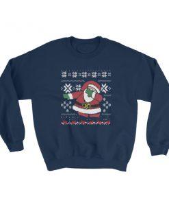 Dubbing Santa Funny Ugly Christmas Sweatshirt