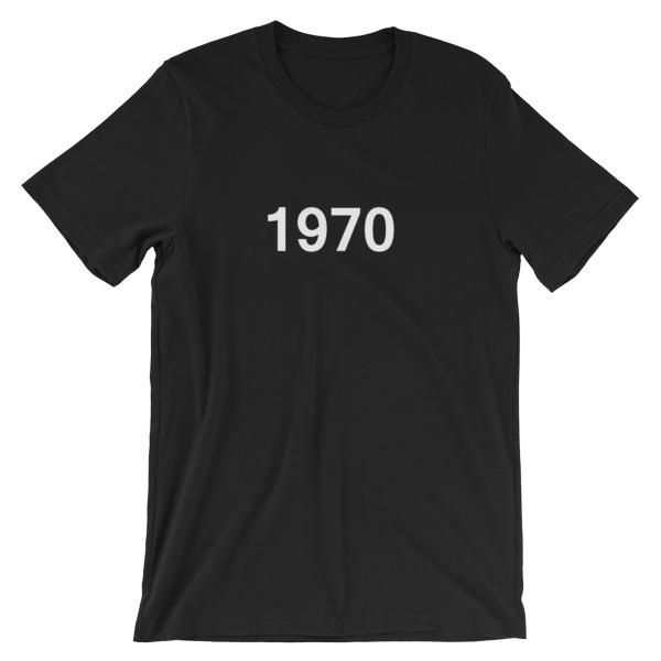 mockup 9ba014a9 - 1970 Short-Sleeve Unisex T-Shirt