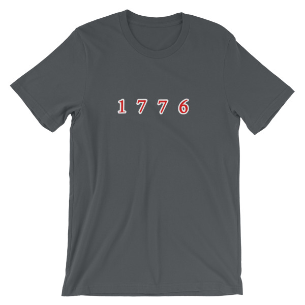 mockup a0ac0a67 - 1776 Short-Sleeve Unisex T-Shirt
