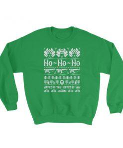 mockup a19fe1cd 247x296 - Die Hard Ho Ho Ho Ugly Christmas Sweatshirt