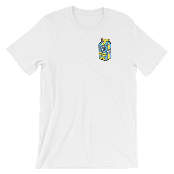 mockup a2b5a779 - lyrical lemonade Short-Sleeve Unisex T-Shirt