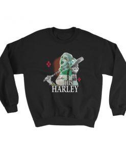 mockup a5564e9e 247x296 - His Harley Quinn Sweatshirt