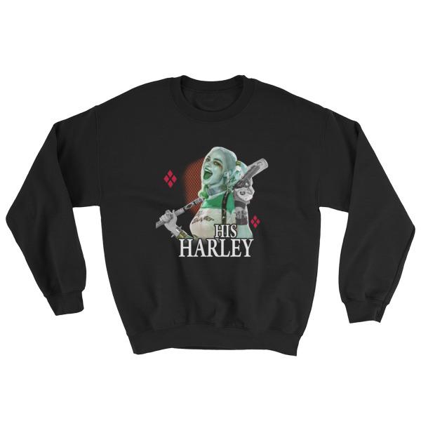His Harley Quinn Sweatshirt