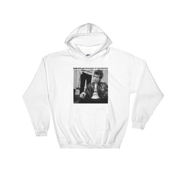 BOB DYLAN Hoodie Black Hooded Sweater