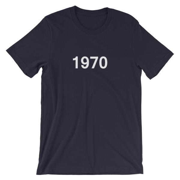 mockup ba974912 - 1970 Short-Sleeve Unisex T-Shirt