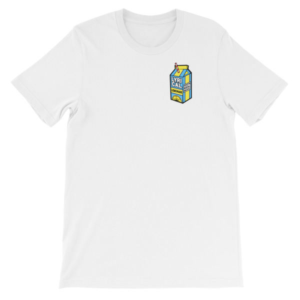 mockup c52c4239 - lyrical lemonade Short-Sleeve Unisex T-Shirt