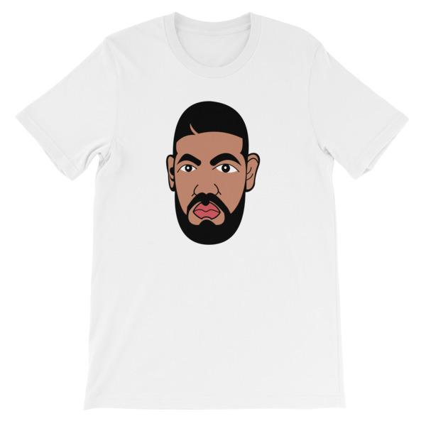 mockup c719c9ae - Drake face Funny Short-Sleeve Unisex T-Shirt