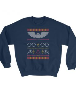 mockup d5478555 247x296 - Harry Potter Ugly Christmas Pattern Sweatshirt