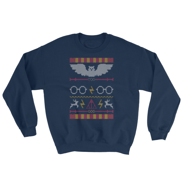 Harry Potter Ugly Christmas Pattern Sweatshirt