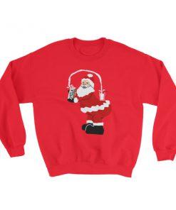 Kim Kardarshian Joke funny Christmas Sweatshirt