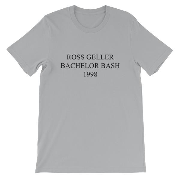mockup f23b5b34 - best man joey tribbiani Short-Sleeve Unisex T-Shirt