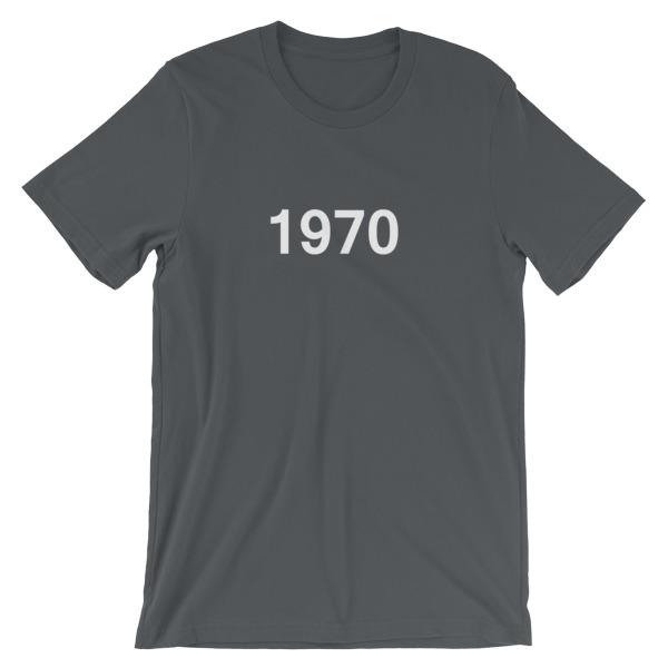 mockup f29ac78f - 1970 Short-Sleeve Unisex T-Shirt