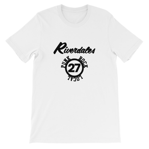 mockup 19486bed - Riverdales Punk Rock Local 27 Short-Sleeve Unisex T-Shirt