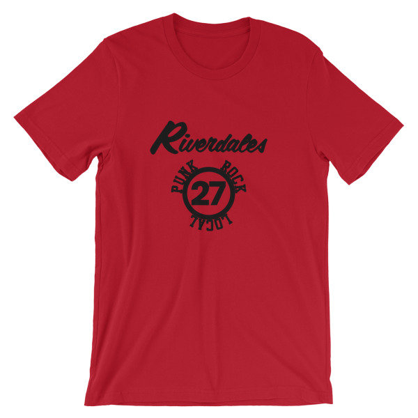 mockup 2c138753 - Riverdales Punk Rock Local 27 Short-Sleeve Unisex T-Shirt