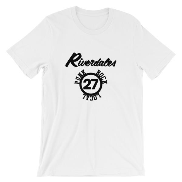 mockup 415e7b4c - Riverdales Punk Rock Local 27 Short-Sleeve Unisex T-Shirt