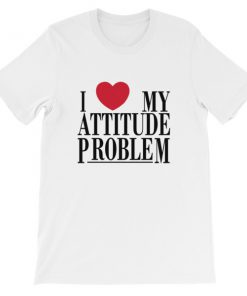 mockup 560bbbbd 247x296 - I Love My Attitude Problem Short-Sleeve Unisex T-Shirt