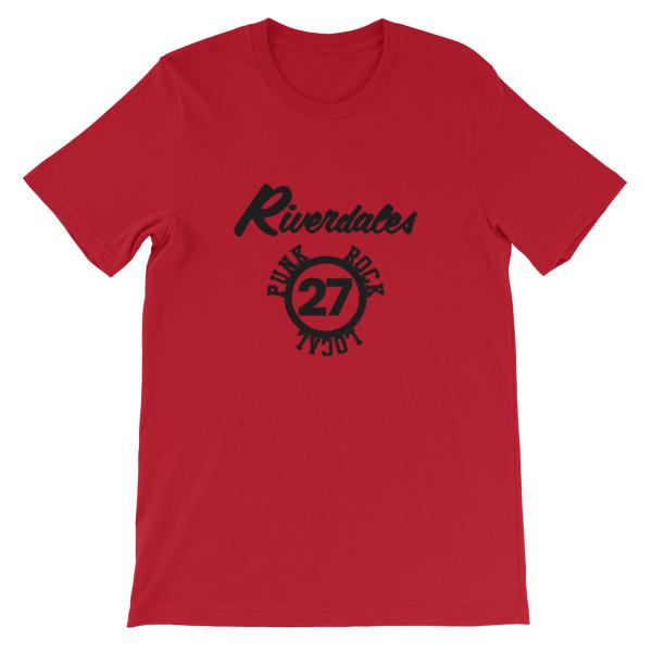 mockup 6dcc01c2 - Riverdales Punk Rock Local 27 Short-Sleeve Unisex T-Shirt