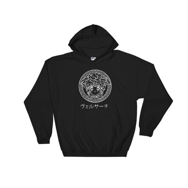mockup 71dbf7e6 - sailor moon is supreme Hooded Sweatshirt