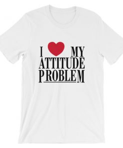 mockup 99d58686 247x296 - I Love My Attitude Problem Short-Sleeve Unisex T-Shirt