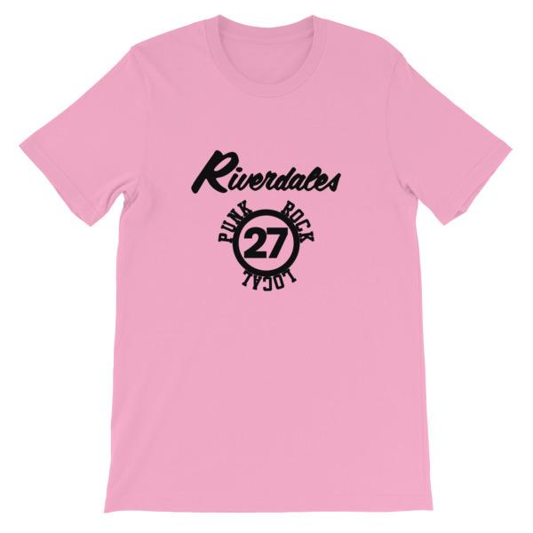 mockup b8f32db7 - Riverdales Punk Rock Local 27 Short-Sleeve Unisex T-Shirt