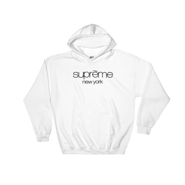 7ca842c9af08 Supreme New york Hooded Sweatshirt - Cheap Graphic Tees